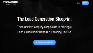 Ryan Wegner – The Lead Generation Blueprint