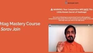 Sorav Jain – Hashtag Mastery Course