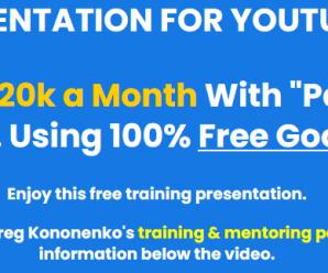 Greg Kononenko's – Caffeinated Niche Profits